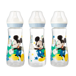 Lot de 3 biberons Disney Mickey Bloom - 250mL - Disney Baby