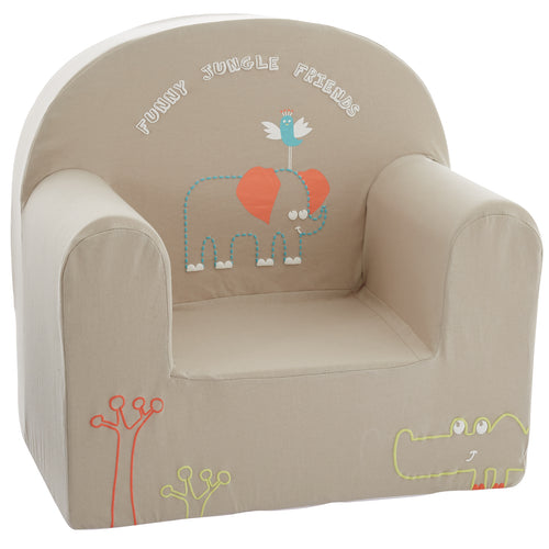 Fauteuil droit enfant Jungle Friends - Babycalin