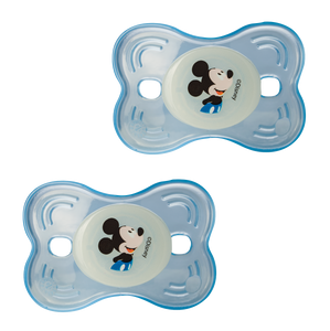 Lot de 2 sucettes nuit Disney Mickey Bloom - 12 mois - Disney Baby