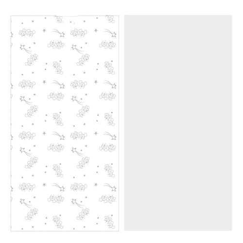 Lot de 2 draps housse 60x120x15cm Mickey & Minnie Douce Nuit Disney Baby - BB Malin