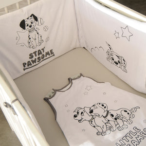 Tour de lit adaptable en velours 101 Dalmatiens - 40x180 cm Disney Baby - BB Malin