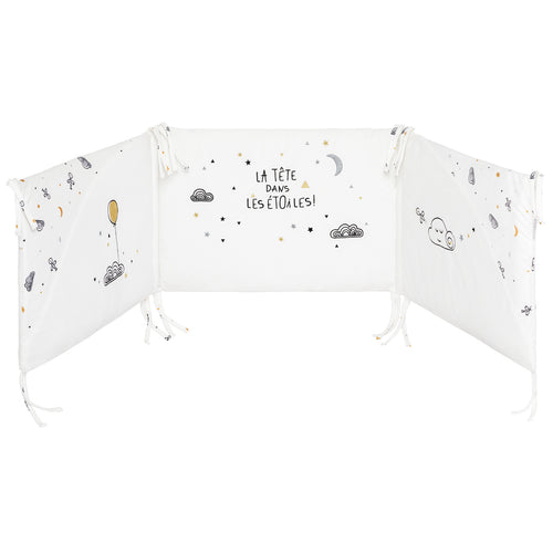 Tour de lit adaptable Etoile Filante - 40x180 cm Little-Band.fr - BB Malin