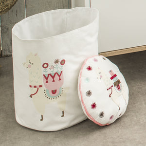 Coussin rond Little Lama 31 cm Little-Band.fr - BB Malin