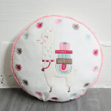 Charger l'image dans la galerie, Coussin rond Little Lama 31 cm Little-Band.fr - BB Malin