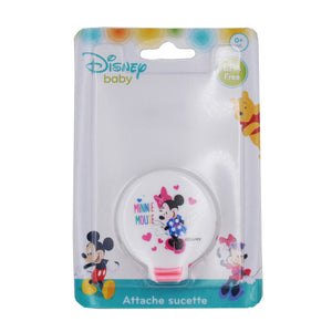 Attache tétine ruban Disney Minnie Pink Girl