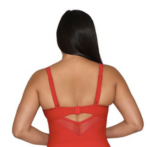 Load image into Gallery viewer, Sheer Class Plunge One Piece Swimsuit