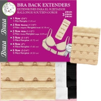 Load image into Gallery viewer, BRA EXTENDERS - 3 PIECE PKG
