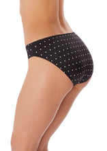 Load image into Gallery viewer, Jewel Cove Bikini Brief (Black & Amber)