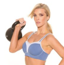 Load image into Gallery viewer, Pauline Sports Bra - Blue