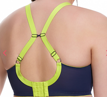 Load image into Gallery viewer, Energise Sports Bra with J-Hook (Navy)