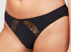 Crosby Scalloped Cheeky Brf