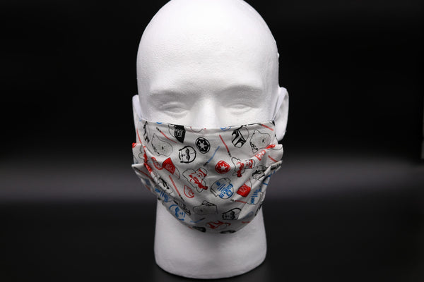 Star Wars Icons White Face Mask