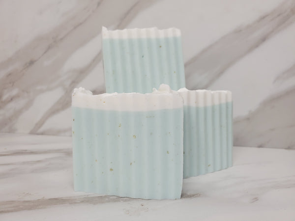 Baby Powder Oatmeal Shea Soap