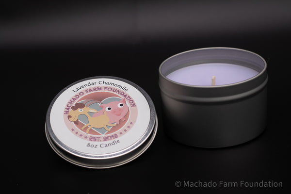 Lavender Chamomile Tin Candle
