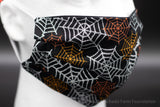 Glitter Spider Web Face Mask