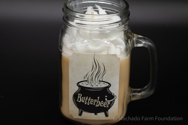 Butterbeer Specialty Candle