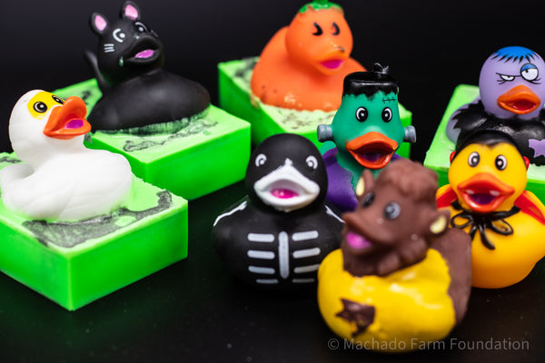 Halloween Duck Soap