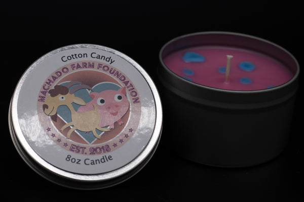 Cotton Candy Tin Candle