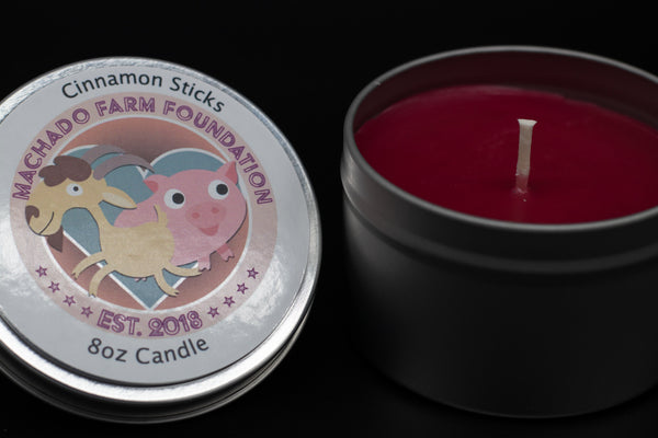 Cinnamon Sticks Tin Candle