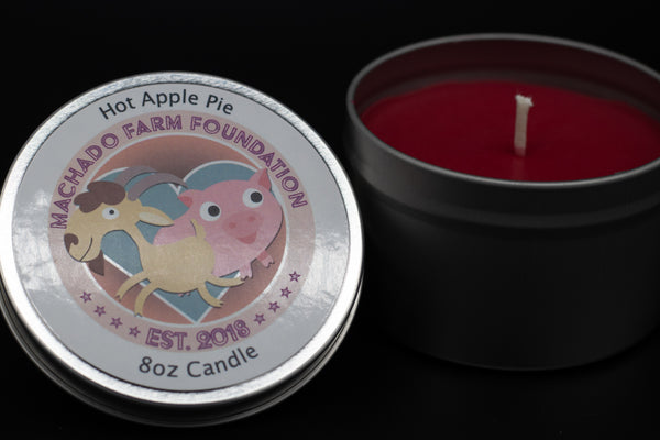 Hot Apple Pie Tin Candle