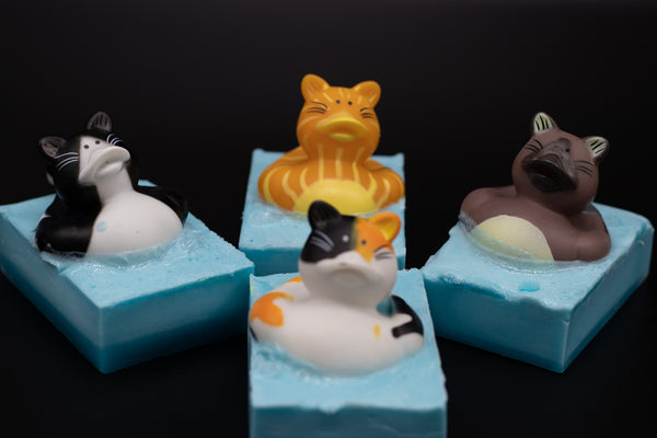 Cat Duck Soap