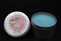 Jelly Donuts Tin Candle