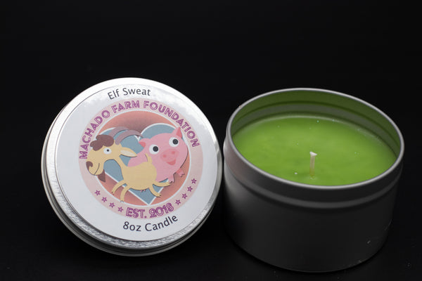 Elf Sweat Tin Candle