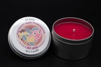 Elf Farts Tin Candle
