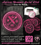 Anxious Dommes Social Club Patch
