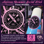 Anxious Dommes Social Club Sticker