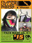 Queer Villain Pride Face Masks (Mk. II)