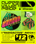 """Radioactive"" Embroidered Patch"