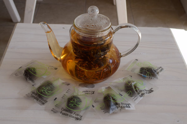 Blooming Teas and Glass Teapot