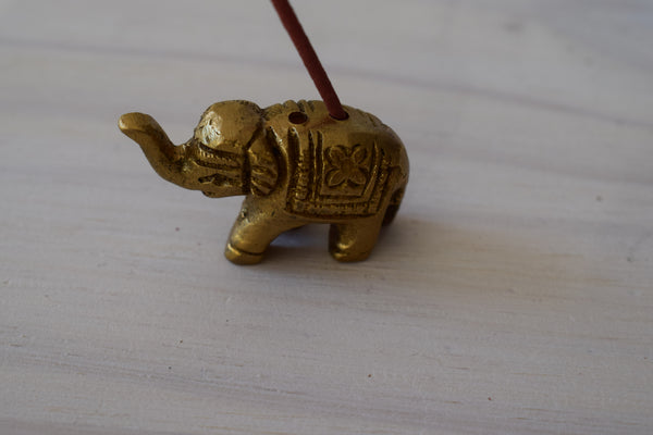 Bronze Elephant Incense burner