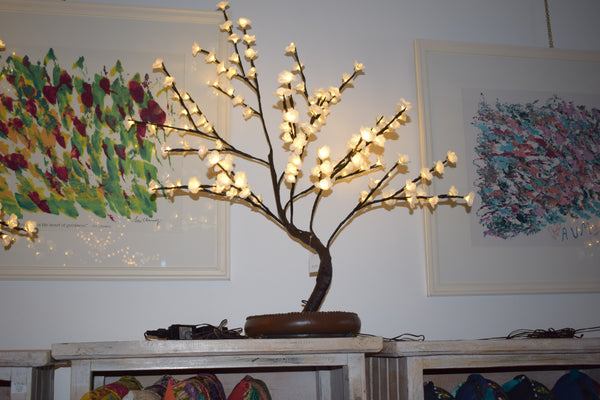 Floral-Light Tree
