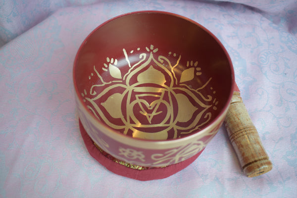 Root Chakra singing bowl
