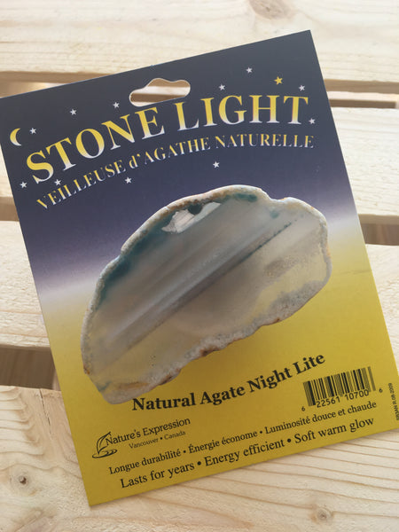 Agate Night Light