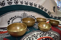 Matte-Brass Singing Bowls