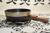 Singing Bowl with Mallet, Cushion and Box
