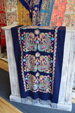Embroidered Cashmere Shawl