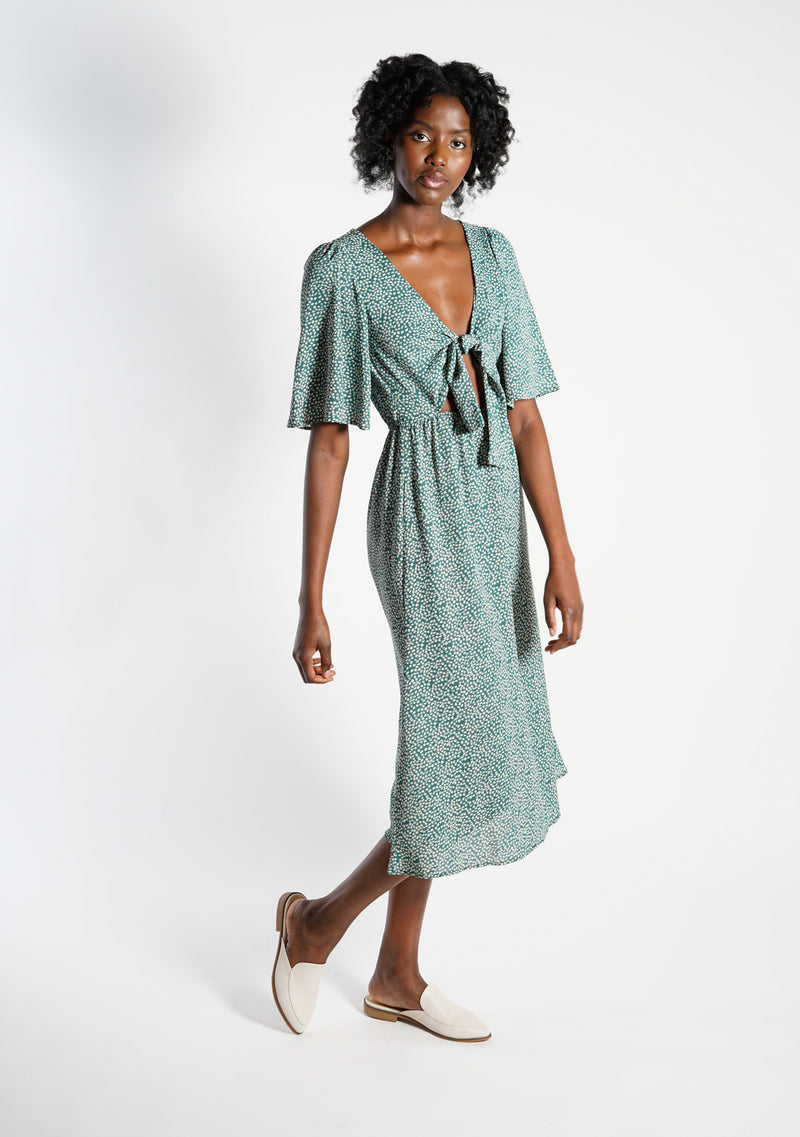Sweep Me Away Middy Dress