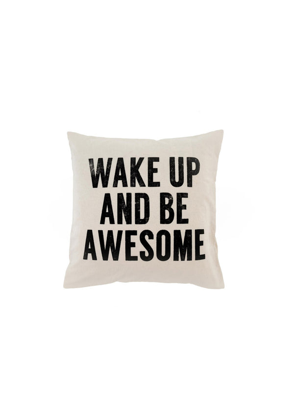 Wake Up Cushion