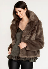 Vm Celina Faux Fur Jacket