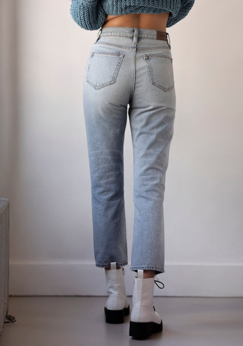 The Tracey High Rise Straight Jean