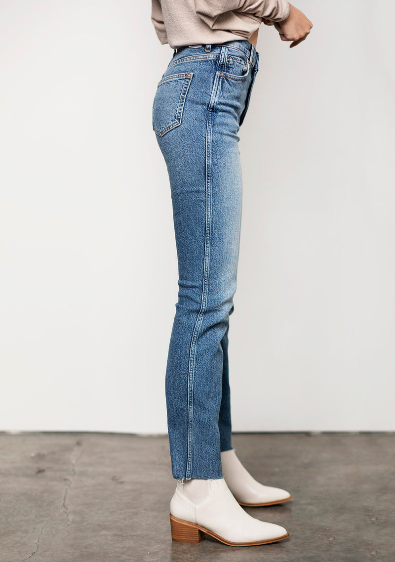 The Dempsey High Rise Straight Jean