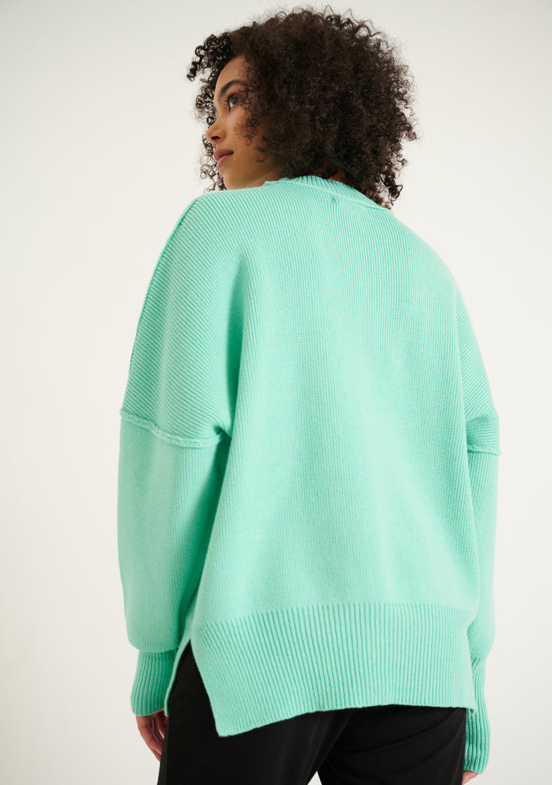 Long Sleeve Crew Neck Sweater