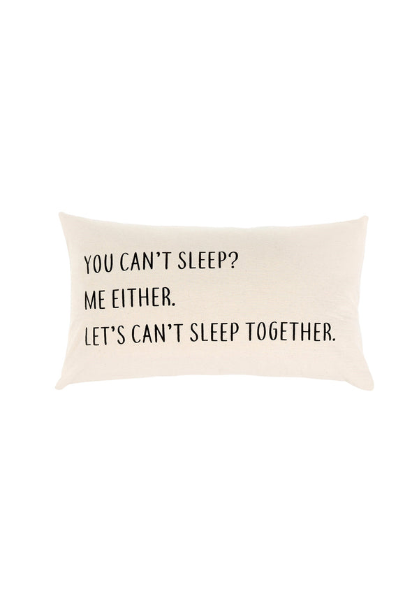 Can't Sleep Cushion
