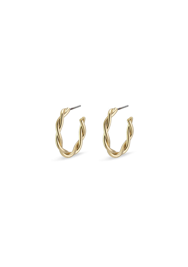 Naja Earrings Gold Plated