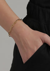 Bibi Bracelet Gold Plated