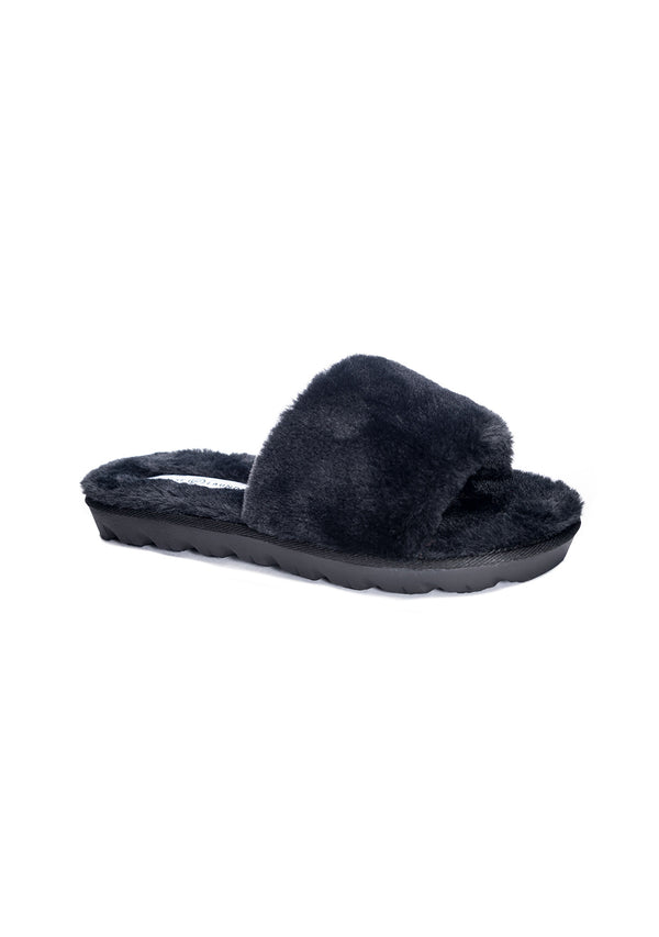 Rally Faux Fur Slippers